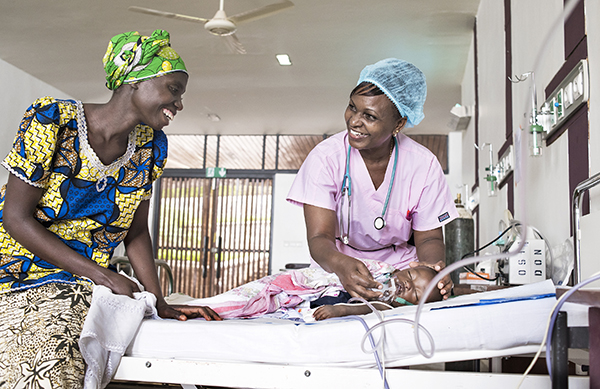 recovery room nurse florence wachira tends to a patient photo margherita mirabella