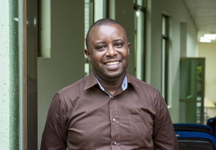 Surgeon Faustin Ntirengonya of Rwanda. Rwinkwavu District Hospital