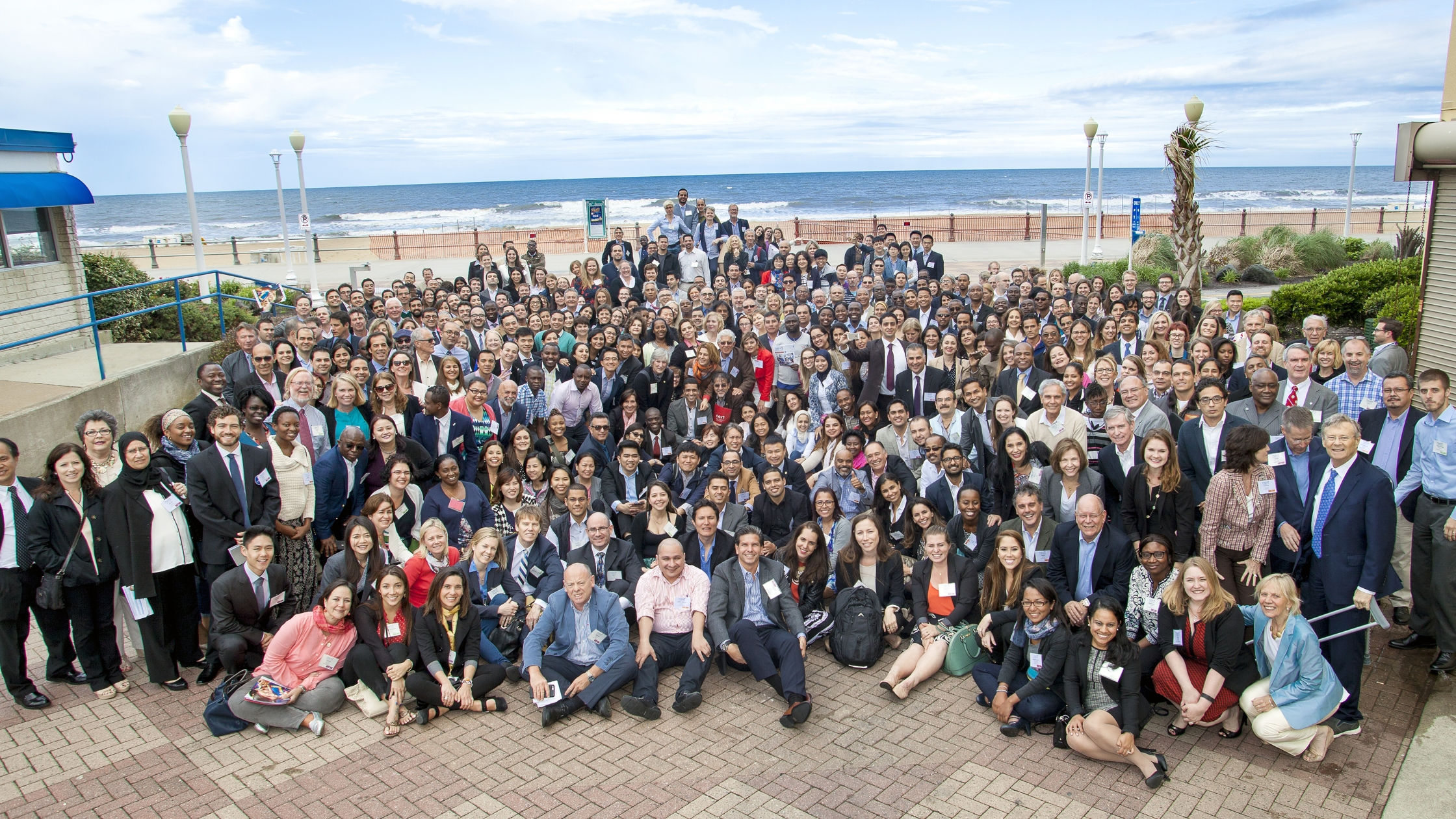 Operation Smile Next Conference and Global Summit group photo.