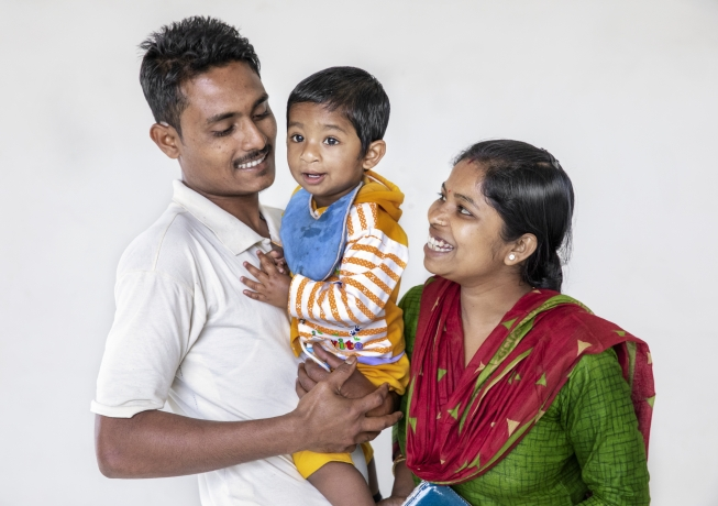 Family in Durgapur